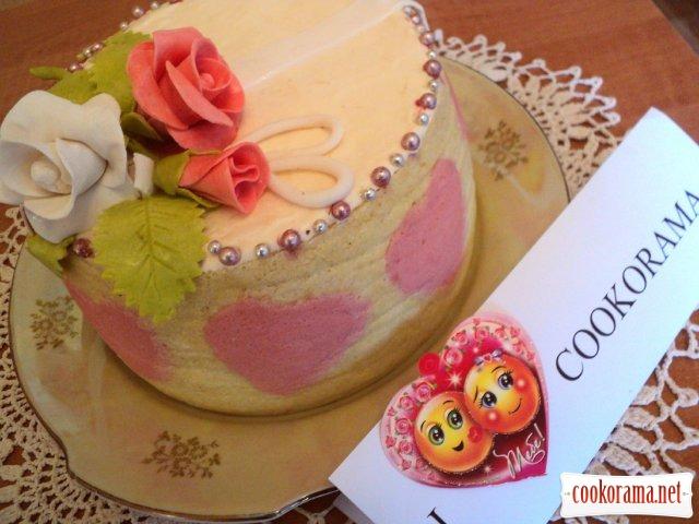 Торт «Для тебя»