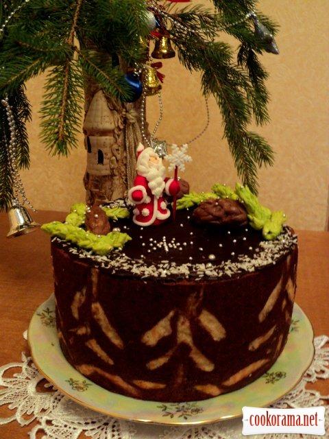 Торт «Новогодняя ночь»