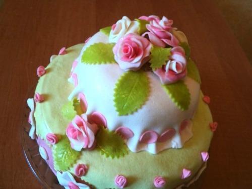 Торт «Квіти» для Рити