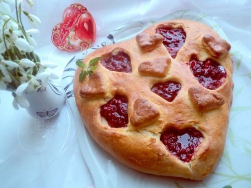 Пиріг «Ягідне серце»
