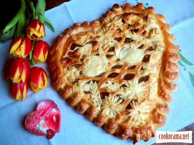 Пиріг «Серце»