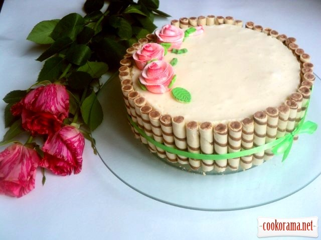 Как сделать торт  легко и просто