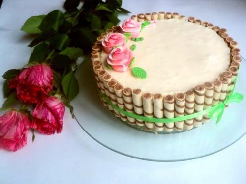 Детский торт на день рождение рецепт с пошагово