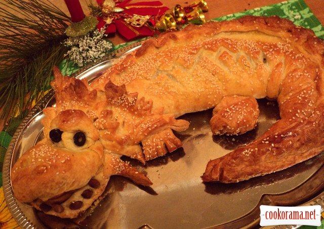Пирог «Дракоша»