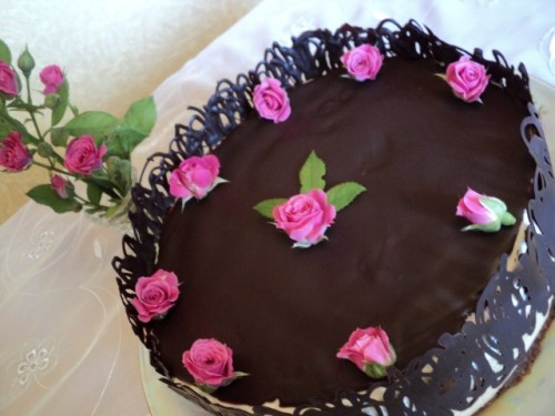 Кавово-шоколадний торт «З добрим ранком!»