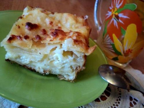 Листковий пиріг із бринзою