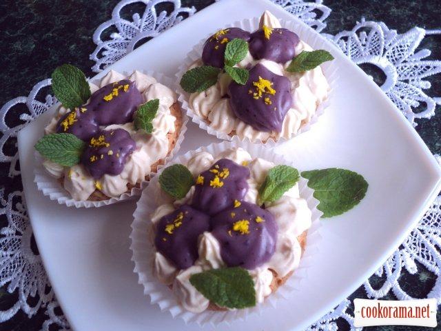 """Cake """"Violets"""""""