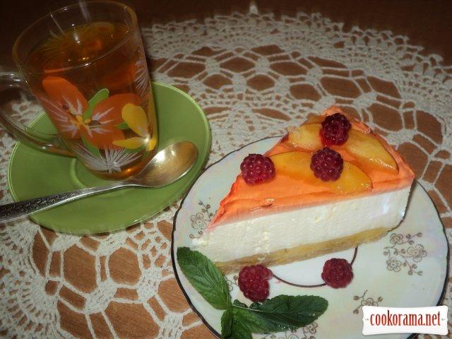 Торт «Персиковый нектар»