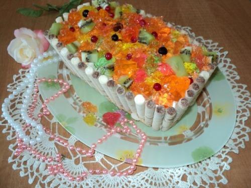 Торт «Скринька з скарбами»