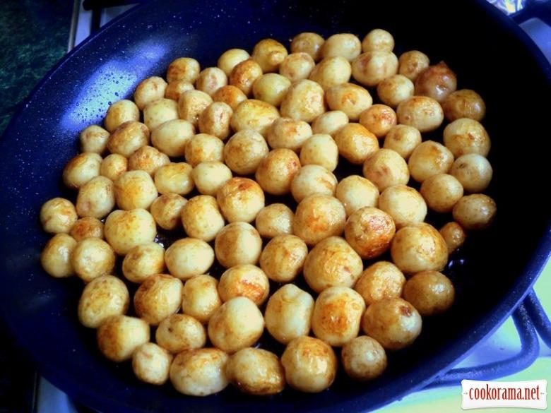 Мелкая картошка рецепты с фото