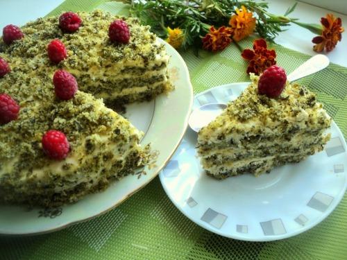 Торт «Лесной мох»