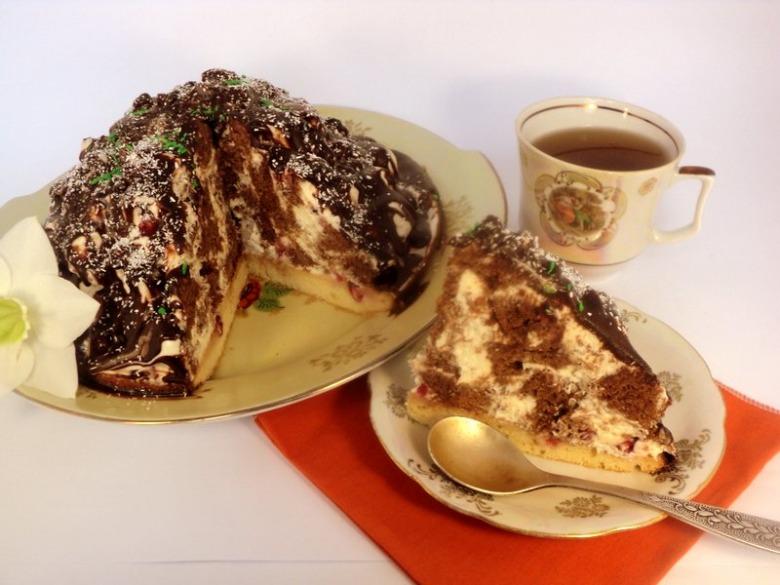 Торт «Кучерявый пинчер»