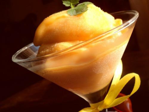 Персиковий щербет