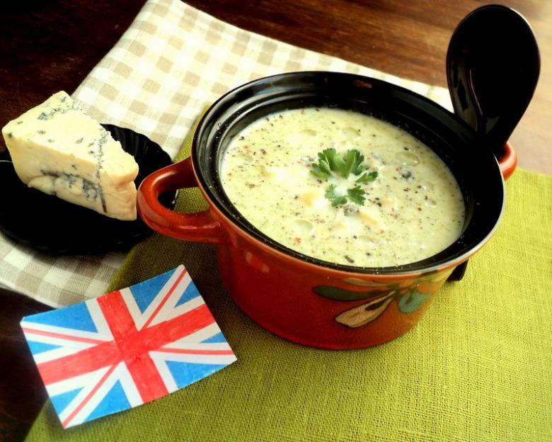 Кремовый куриный суп (Крим оф чикен)