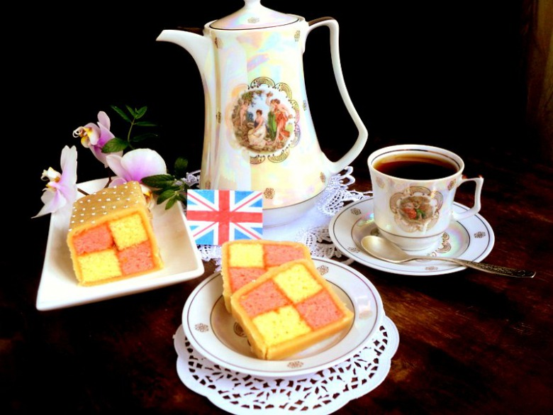 Кекс «Баттенберг» (Battenberg cake)