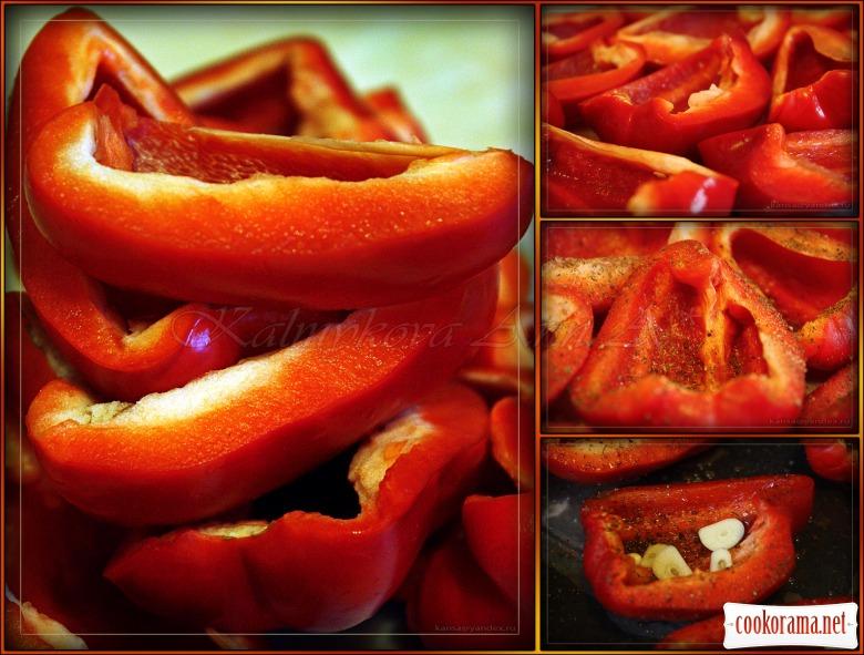 Вяленый болгарский перец