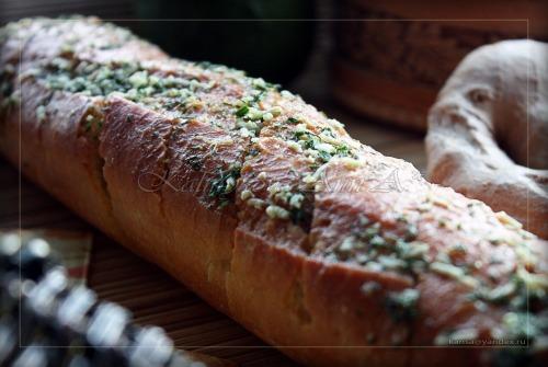 Багет с чесночным маслом