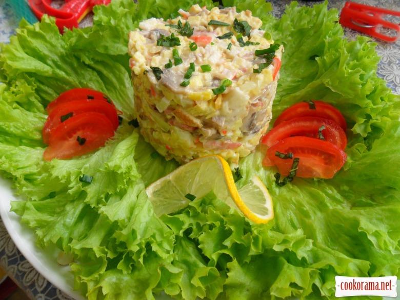 Салат для коханої