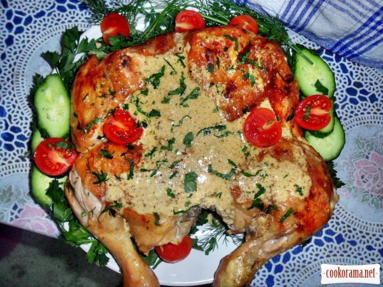 Шкмерули - (Цыпленок тапака по-шкмерски)