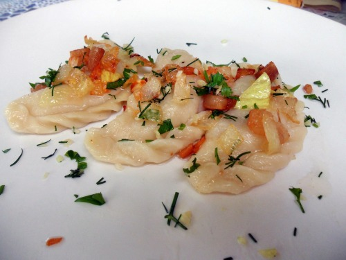 Вареники (картошка+капуста)