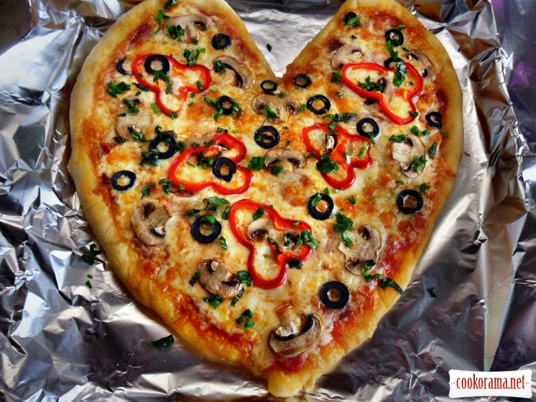 Піца для коханої