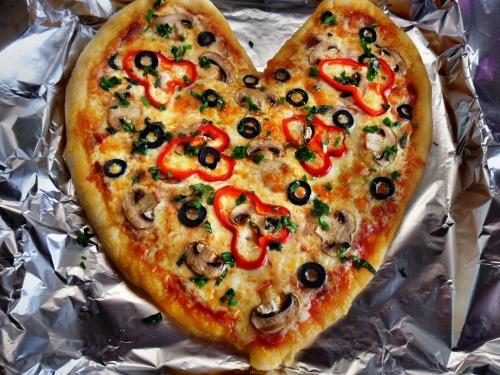 Пицца для любимой