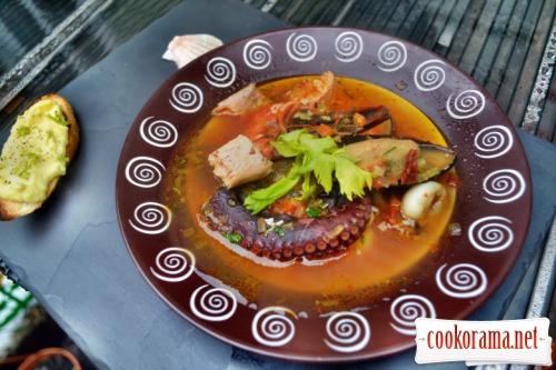Суп марсельских рыбаков Буйабес