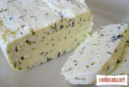 Адигейський сир з кропом
