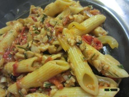 Рибний соус для макаронів