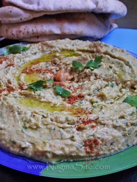 Хумус З Петрушкою І Лимонним Соком