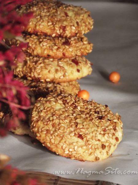 Баразек – Арабское Печенье С Медом И Кунжутом