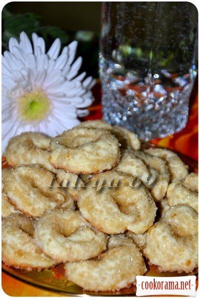Итальянское сахарное печенье - Торкетти
