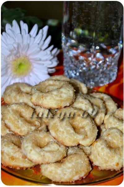 Італійське цукрове печиво - Торкетті