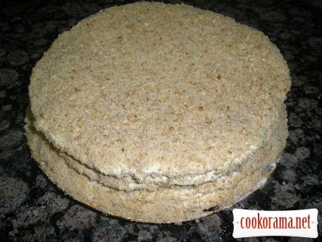 Торт медовый со сгущёнкой