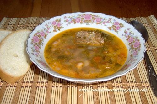 Суп квасолевий