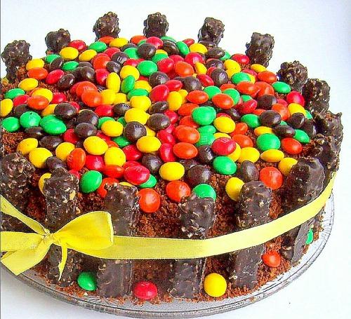 Тортик m&m's