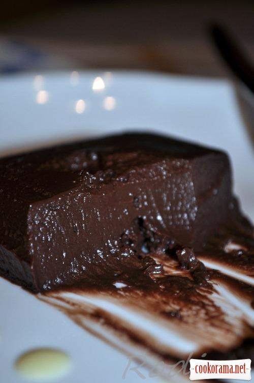 Шоколадный фондан - Fondant au chocolat