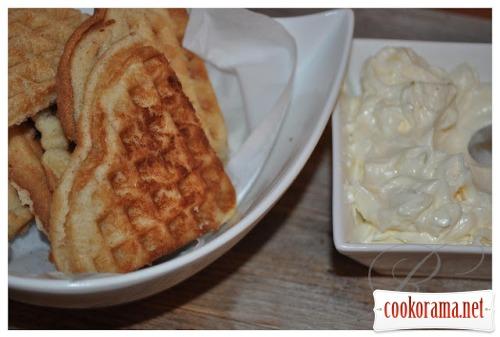 Деликатесные ореховые вафли (в эл./вафельнице)
