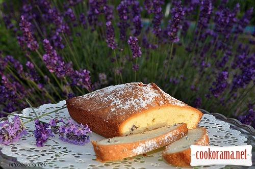 Лавандовий кекс
