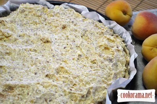Абрикосовый пирог с франжипаном