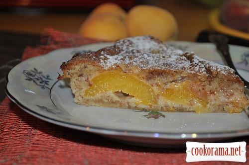 Абрикосовий пиріг з франжипаном