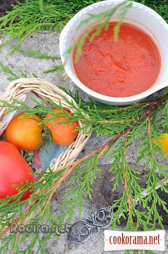Томатный соус. Почти кетчуп.