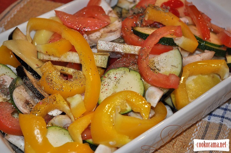 Грілованні овочі