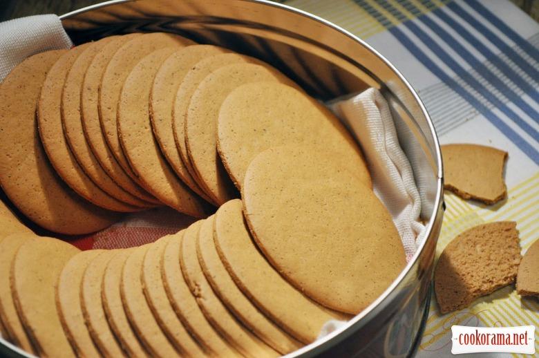 Pepparkakor - имбирное печенье