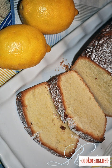 Лимонний класичний кекс