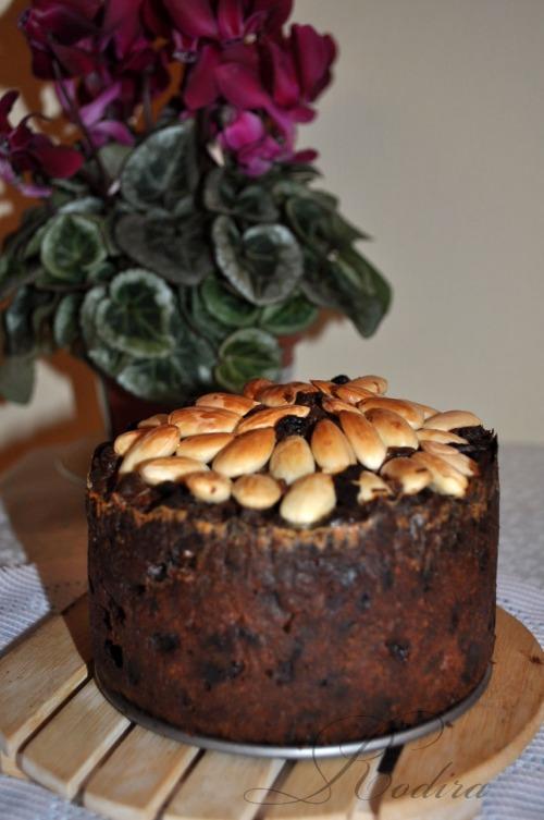 Данді - Dundee cake. Різдвяна випічка