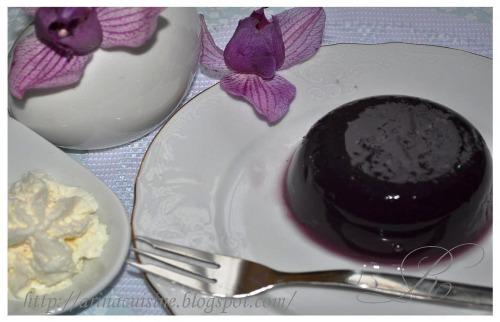 Желе з чорного винограду