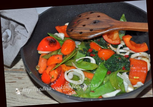 Овощи второе рецепты фото