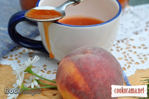 Peach-lime confiture