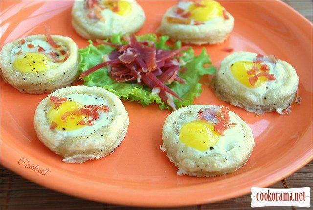 Яичные корзиночки (Canastillas de huevos)